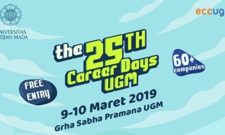 SERBU!! Job Fair, The 25th Career Days UGM 09-10 Maret 2019